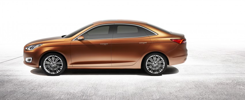 Ford Escort Concept – new compact sedan for China Image #169769