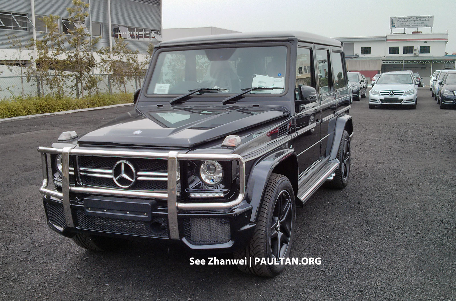 S 63 Amg 2017 >> SPIED: Mercedes-Benz G63 AMG spotted in Malaysia Image 167729