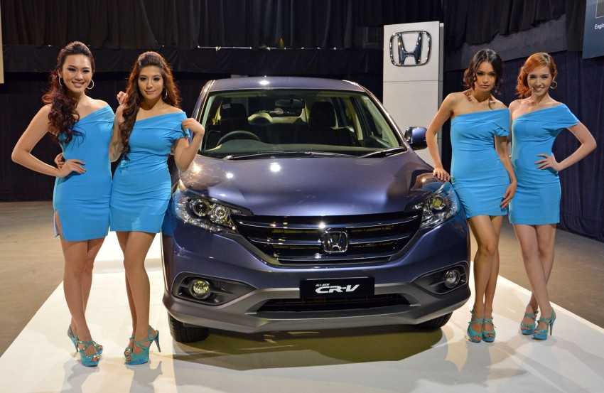 Order book for the new Honda CR-V tops 3,000 units; 2.4 model now open for booking ahead of June launch Image #167765