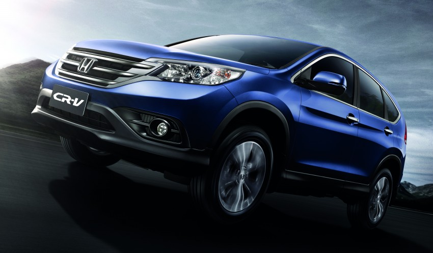 Order book for the new Honda CR-V tops 3,000 units; 2.4 model now open for booking ahead of June launch Image #167766