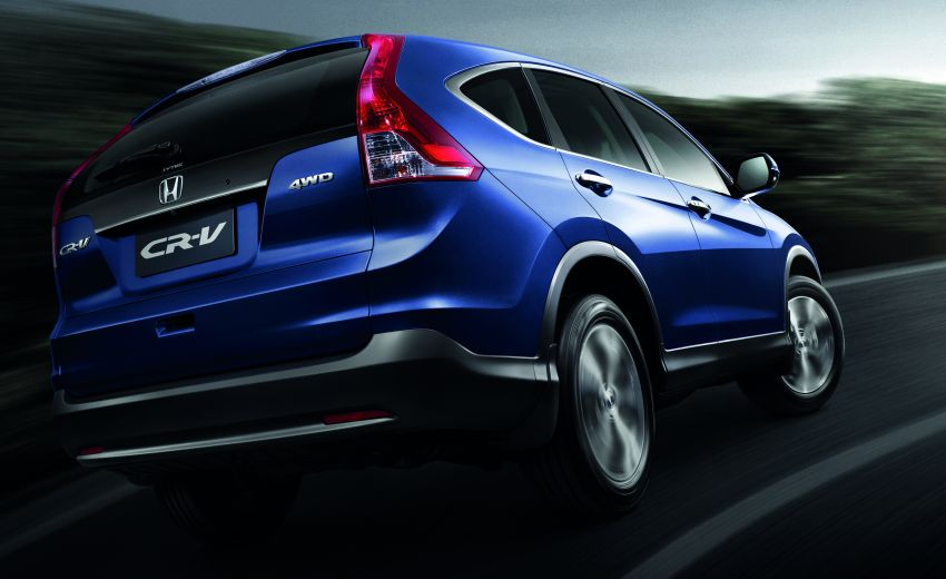 Order book for the new Honda CR-V tops 3,000 units; 2.4 model now open for booking ahead of June launch Image #167767
