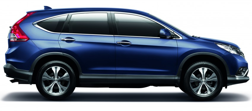 Order book for the new Honda CR-V tops 3,000 units; 2.4 model now open for booking ahead of June launch Image #167768