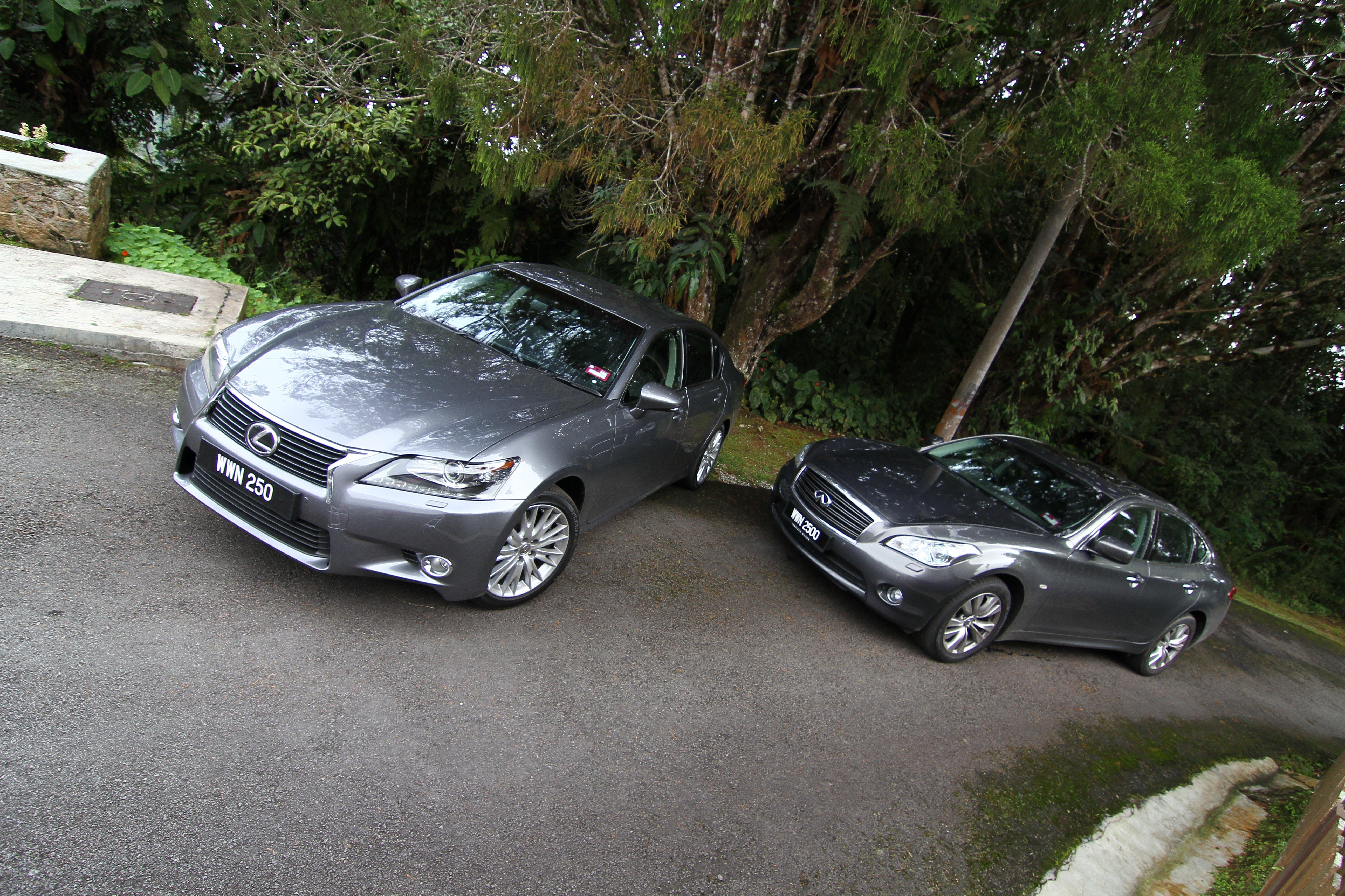 Fair Market Value Car Calculator >> Audi A6 vs BMW 520i vs Infiniti M25 vs Lexus GS 250 review