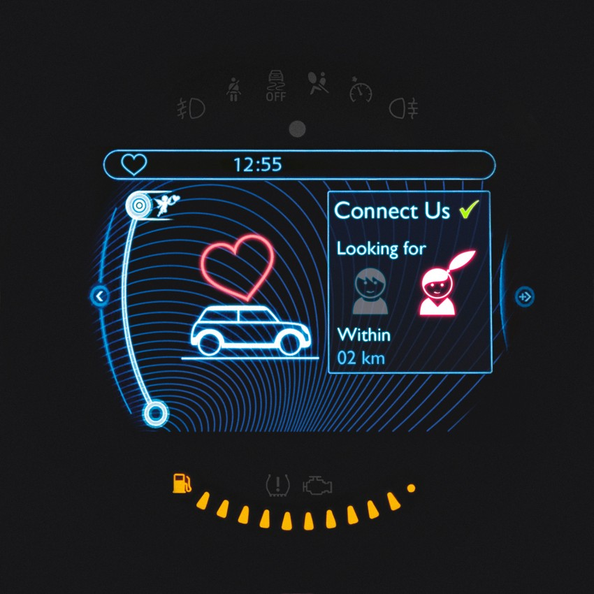 MINI plays cupid with Connect Us in-car dating app Image #165707