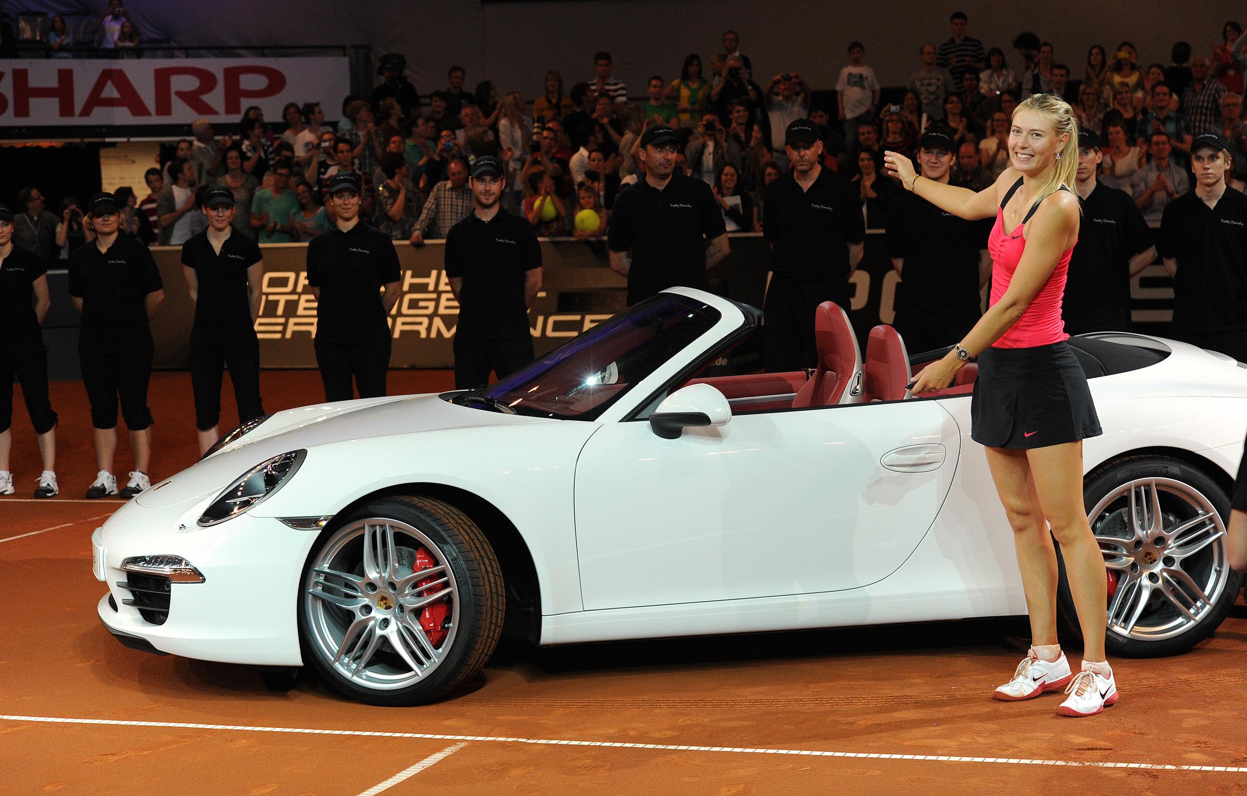 Porsche Signs Maria Sharapova As Brand Ambassador Paul Tan