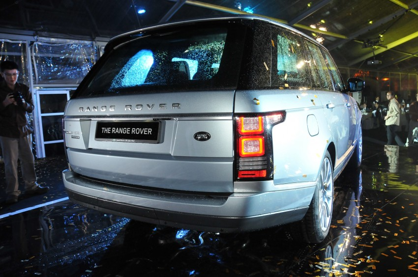 New Range Rover is here – RM950k to RM1.09 million; 4th-gen is lighter, faster and more luxurious than ever Image #167956