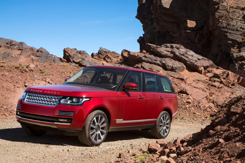 New Range Rover is here – RM950k to RM1.09 million; 4th-gen is lighter, faster and more luxurious than ever Image #168063