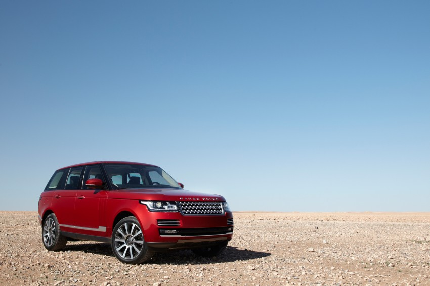 New Range Rover is here – RM950k to RM1.09 million; 4th-gen is lighter, faster and more luxurious than ever Image #168053