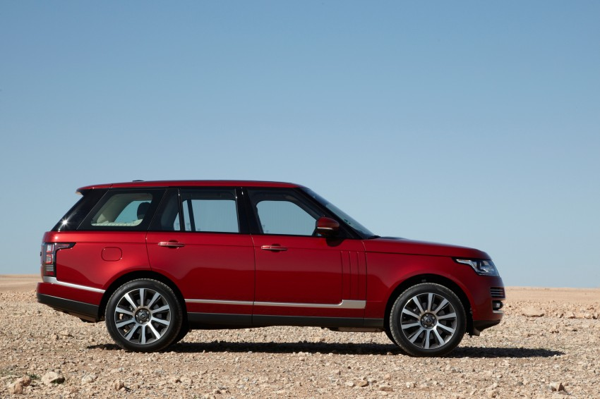 New Range Rover is here – RM950k to RM1.09 million; 4th-gen is lighter, faster and more luxurious than ever Image #168052