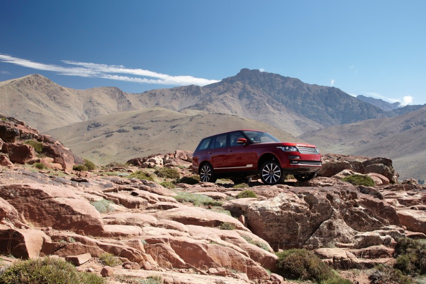 New Range Rover is here – RM950k to RM1.09 million; 4th-gen is lighter, faster and more luxurious than ever Image #168050