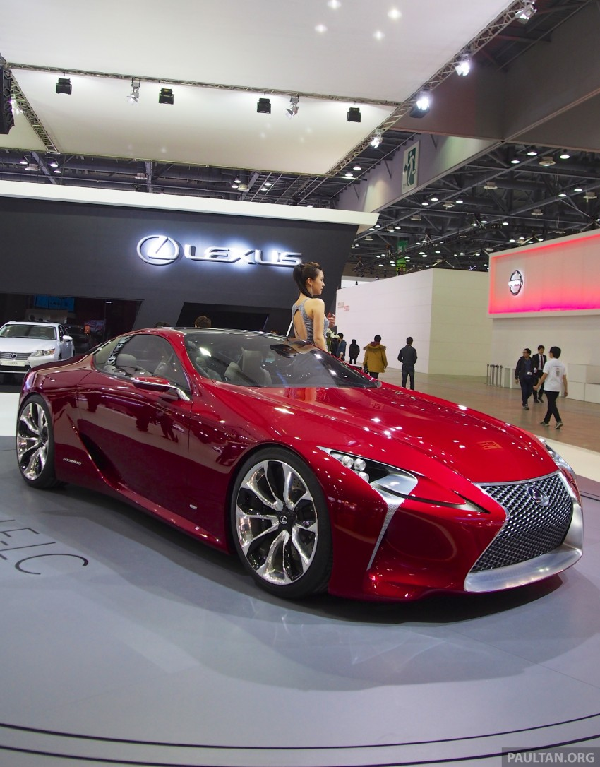Lexus LF-LC Coupe green lighted for production? Image #165936
