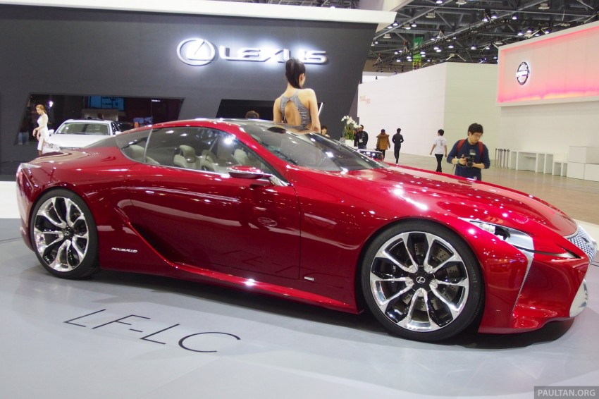Lexus LF-LC Coupe green lighted for production? Image #165935
