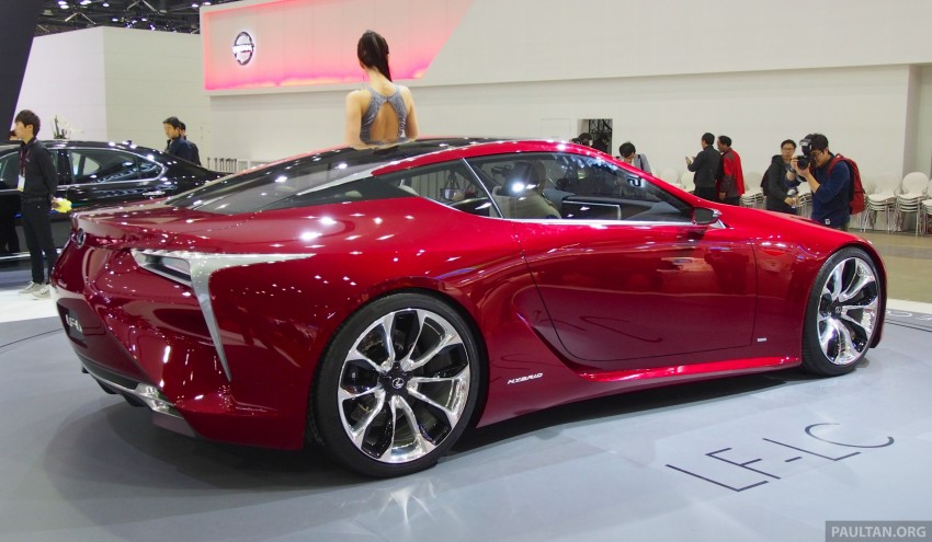 Lexus LF-LC Coupe green lighted for production? Image #165934