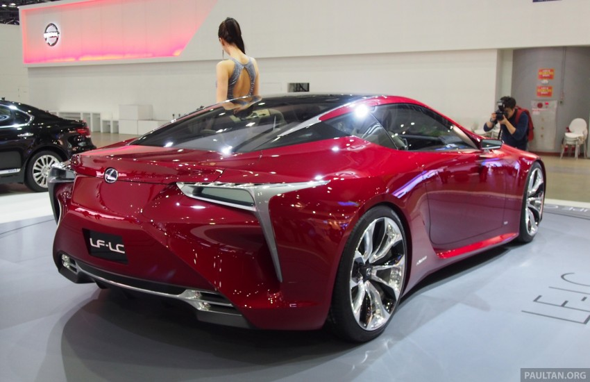 Lexus LF-LC Coupe green lighted for production? Image #165933