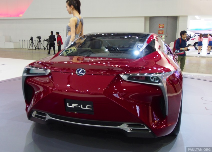 Lexus LF-LC Coupe green lighted for production? Image #165932