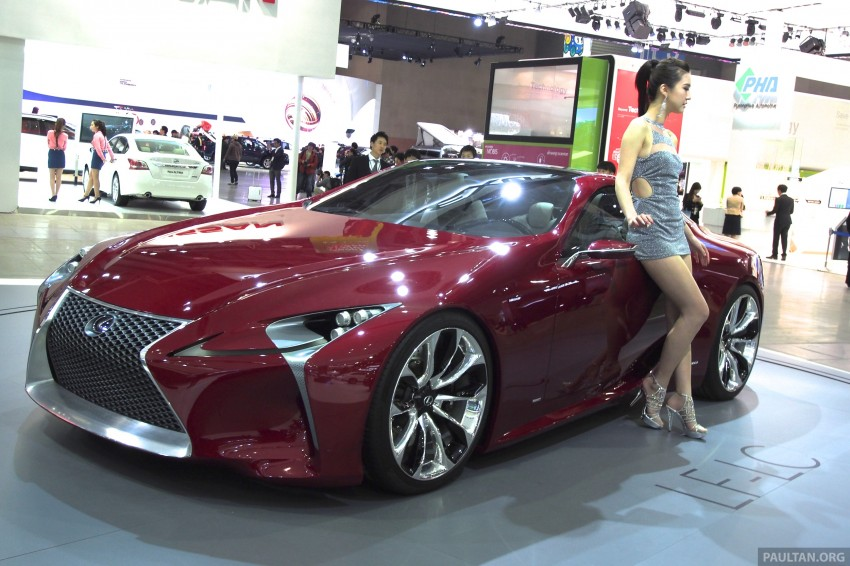 Lexus LF-LC Coupe green lighted for production? Image #165931
