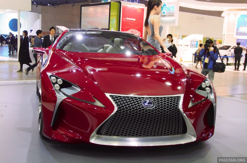 Lexus LF-LC Coupe green lighted for production? Image #165930