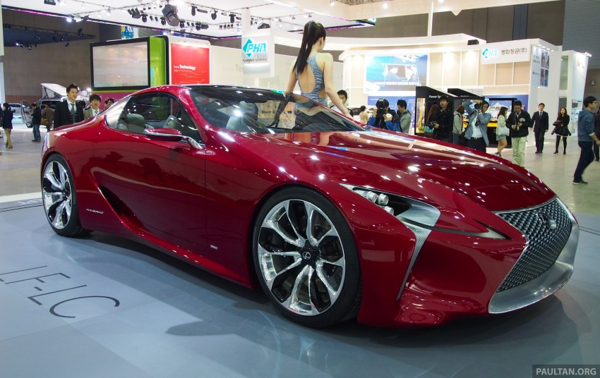 Lexus LF-LC Coupe green lighted for production? Image #165929