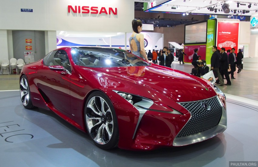 Lexus LF-LC Coupe green lighted for production? Image #165928