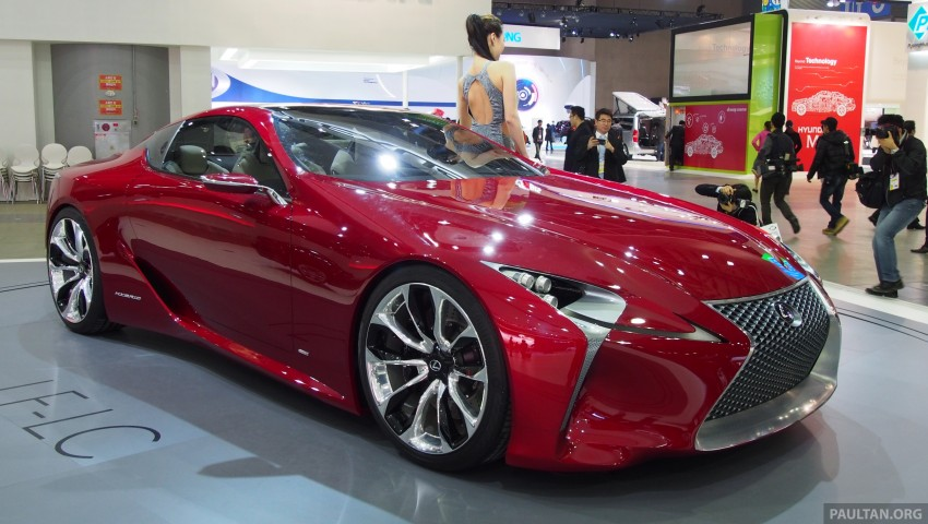 Lexus LF-LC Coupe green lighted for production? Image #165927