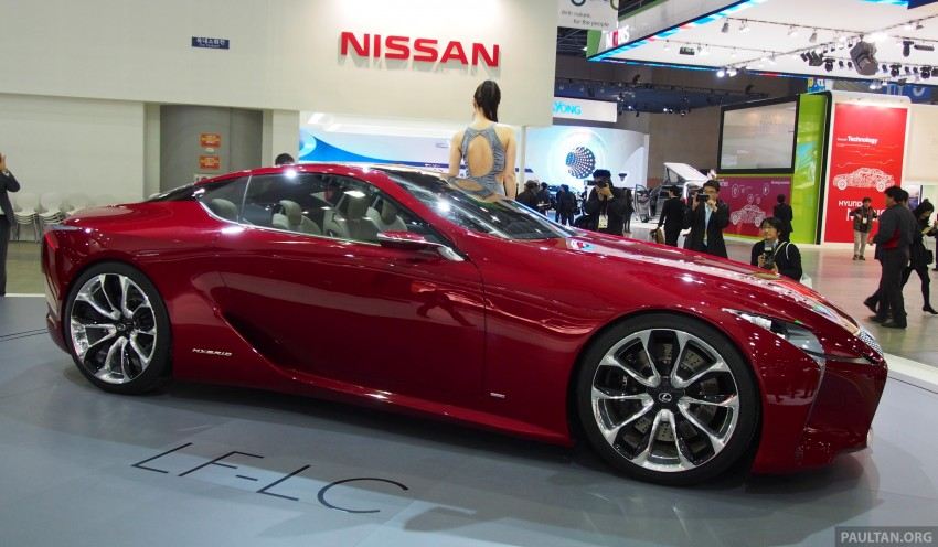 Lexus LF-LC Coupe green lighted for production? Image #165926