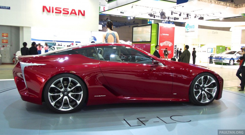 Lexus LF-LC Coupe green lighted for production? Image #165925