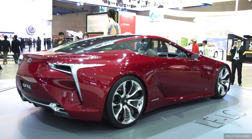 Lexus LF-LC Coupe green lighted for production? Image #165924