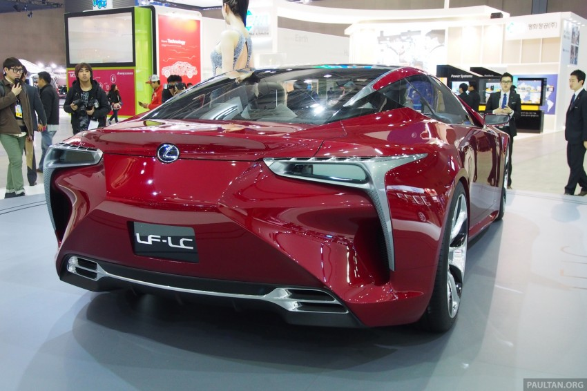 Lexus LF-LC Coupe green lighted for production? Image #165923
