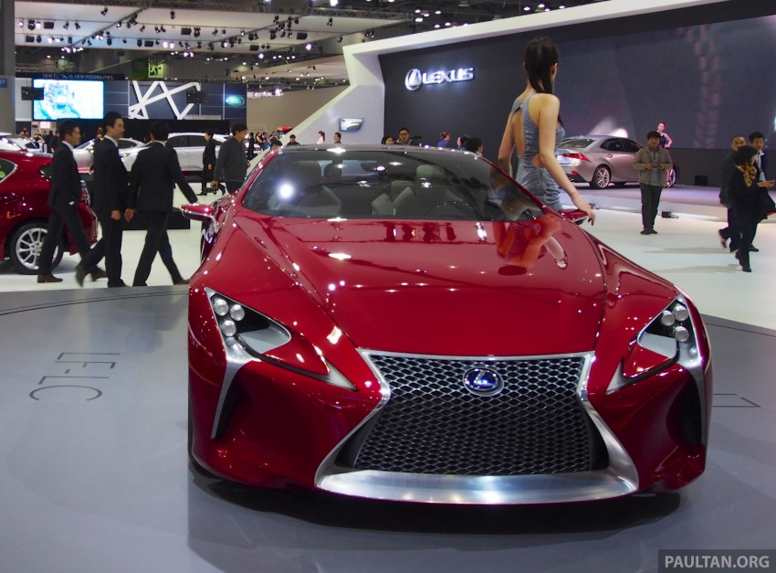 Lexus LF-LC Coupe green lighted for production? Image #165922