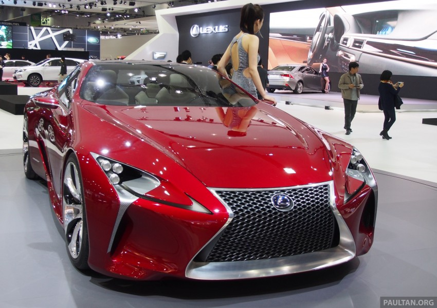 Lexus LF-LC Coupe green lighted for production? Image #165921