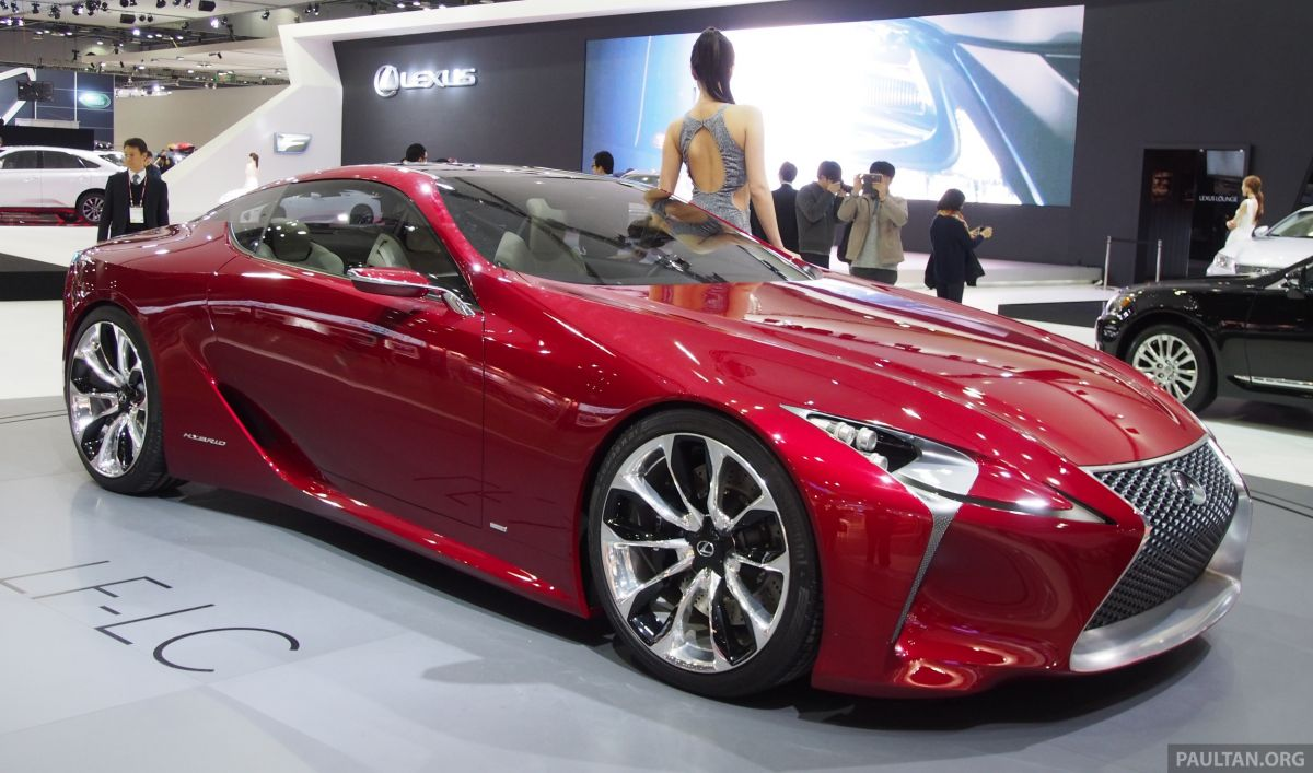 Lexus LF-LC Coupe green lighted for production?