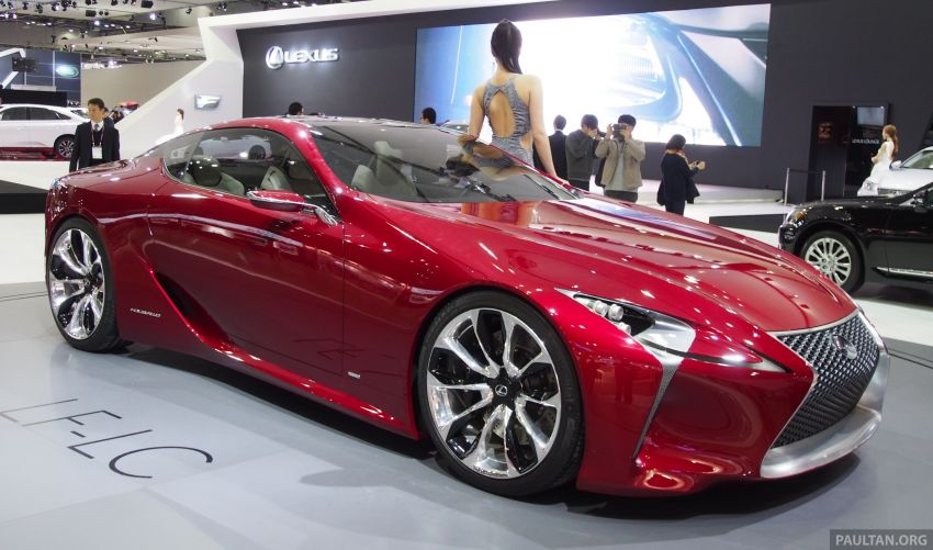 Lexus LF-LC Coupe green lighted for production? Image #165920