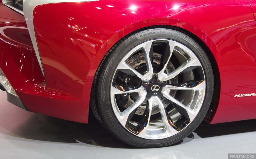 Lexus LF-LC Coupe green lighted for production? Image #165918