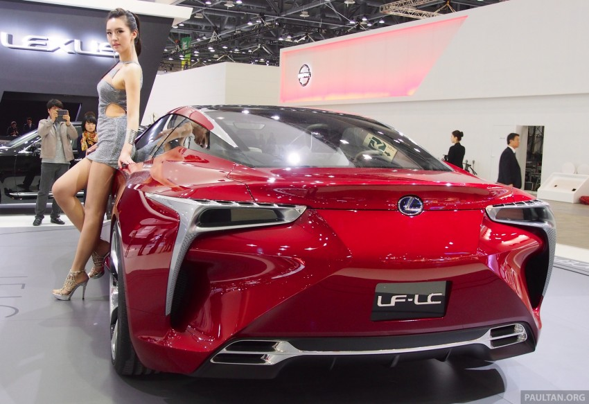 Lexus LF-LC Coupe green lighted for production? Image #165915