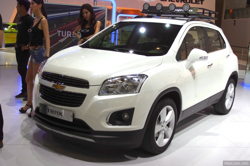 Chevrolet Trax B-segment SUV shown at Seoul 2013 Image #165885