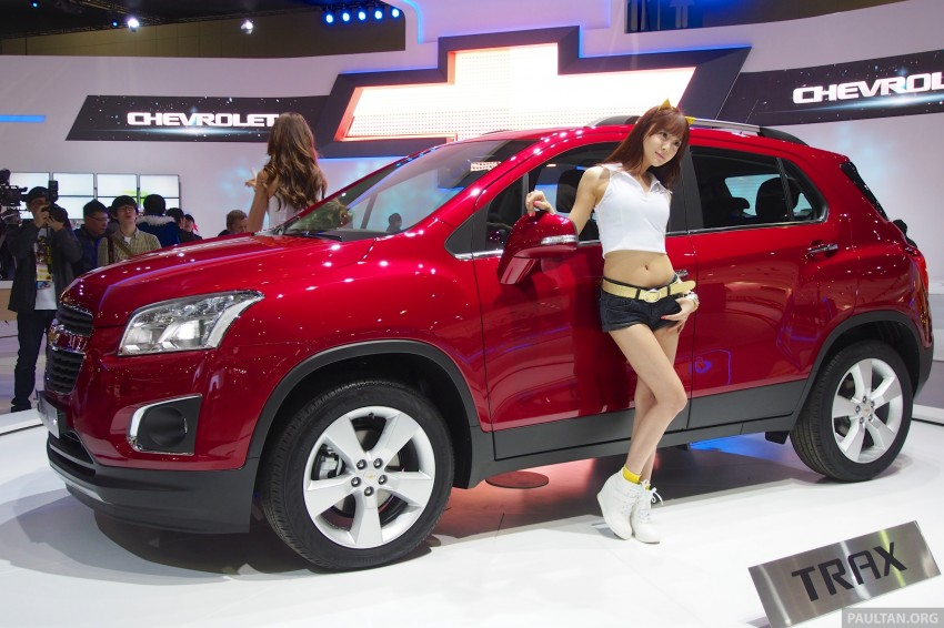 Chevrolet Trax B-segment SUV shown at Seoul 2013 Image #165892