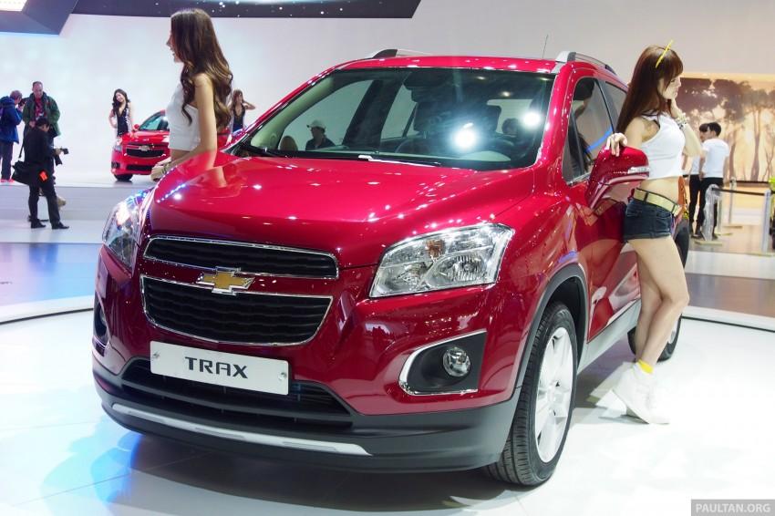 Chevrolet Trax B-segment SUV shown at Seoul 2013 Image #165891