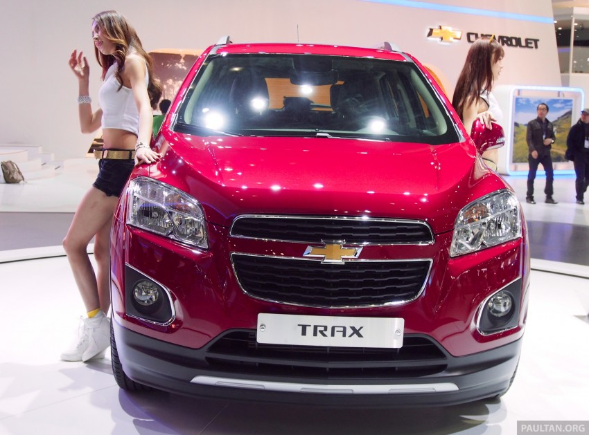 Chevrolet Trax B-segment SUV shown at Seoul 2013 Image #165890