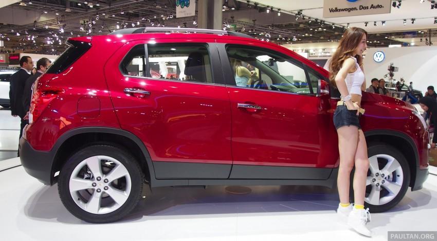 Chevrolet Trax B-segment SUV shown at Seoul 2013 Image #165887