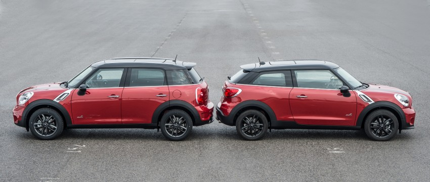 GALLERY: MINI Paceman vs MINI Countryman Image #167529