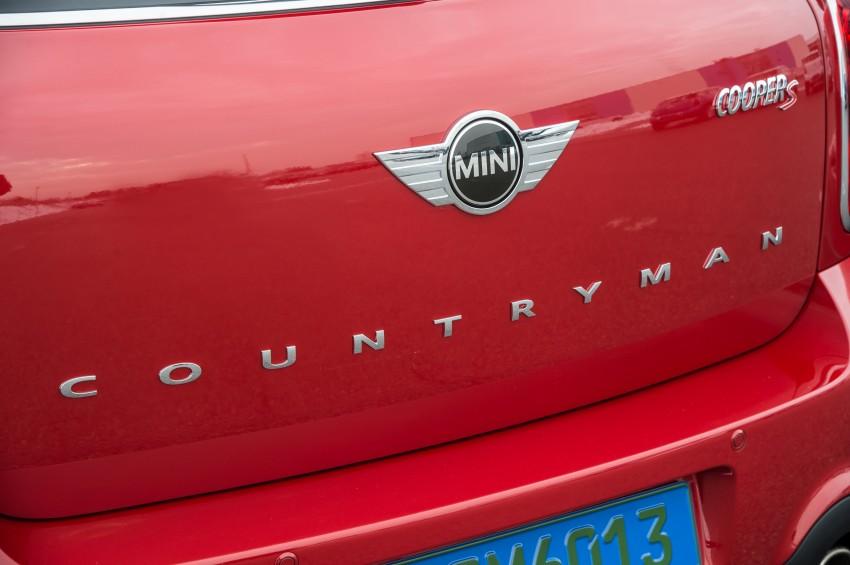 GALLERY: MINI Paceman vs MINI Countryman Image #167531