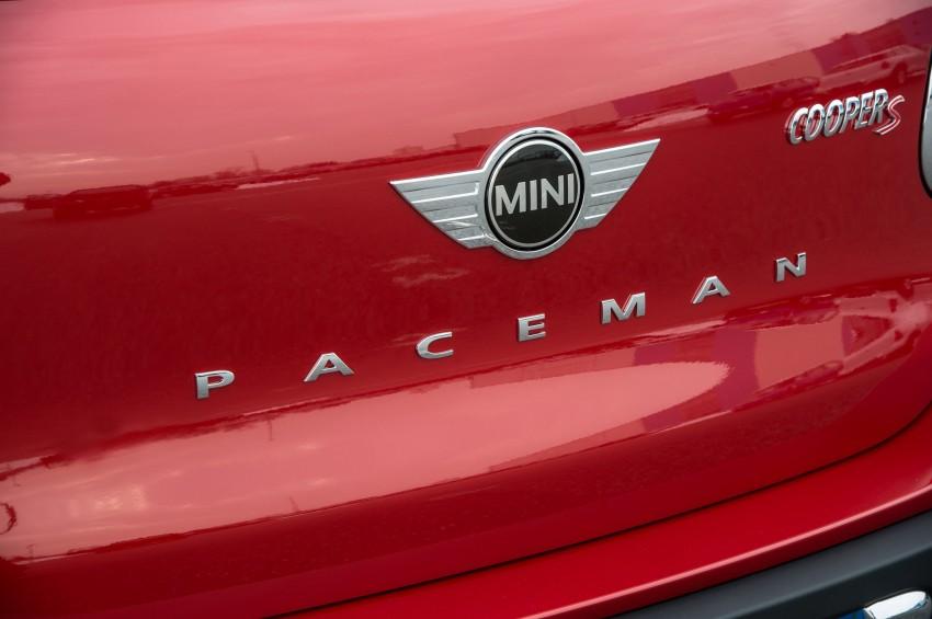 GALLERY: MINI Paceman vs MINI Countryman Image #167538