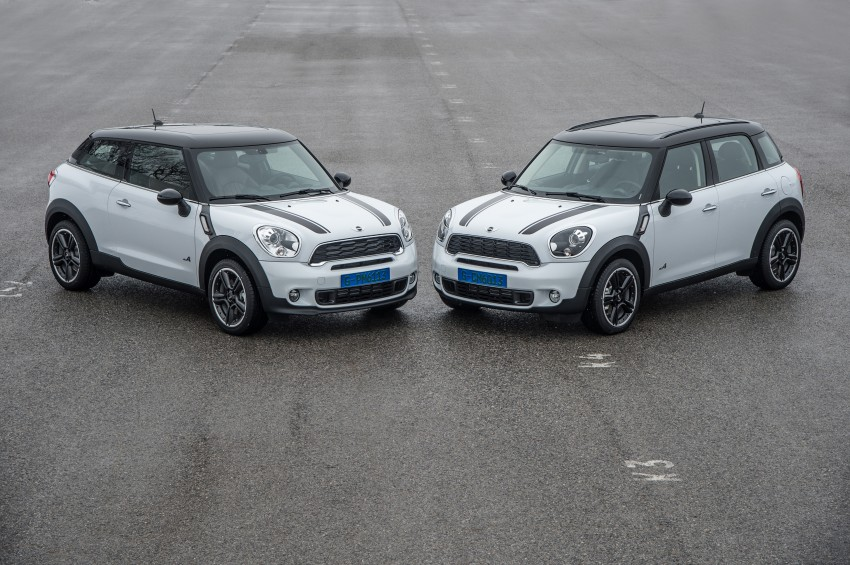 GALLERY: MINI Paceman vs MINI Countryman Image #167542