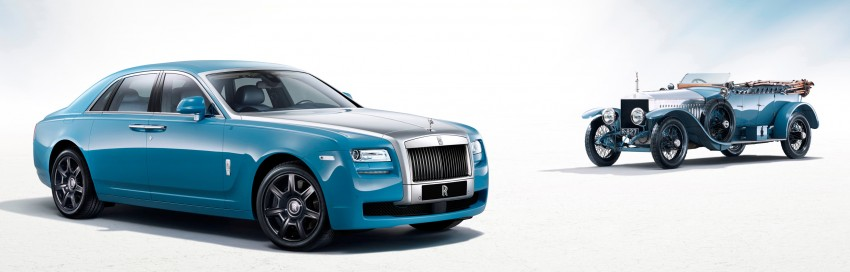 Rolls-Royce Ghost Alpine Trial Centenary Collection Image #169448