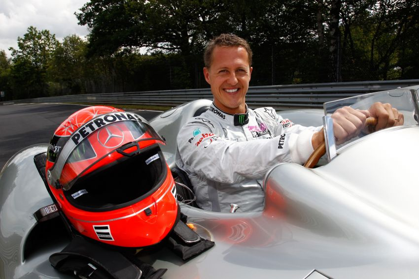 Schumacher to drive Merc F1 car around Nurburgring Image #172247