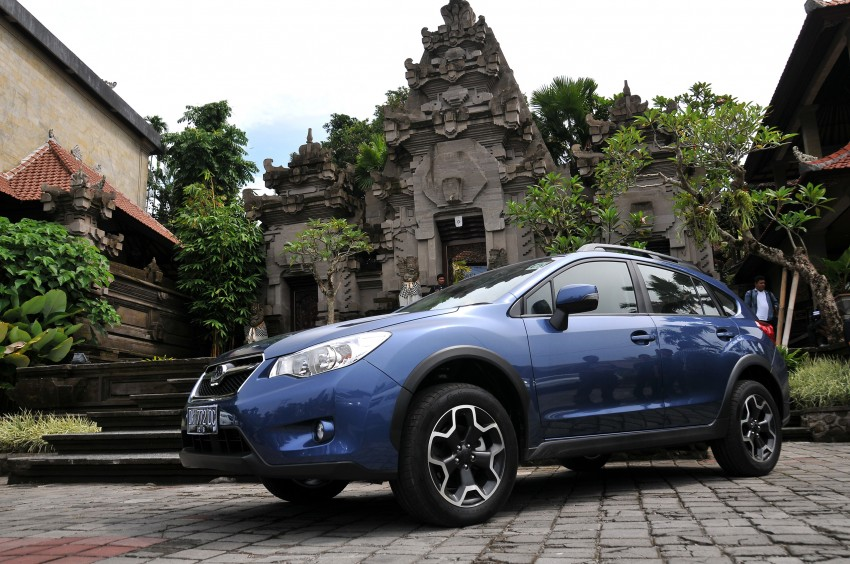 DRIVEN: New Subaru XV 2.0i crossover tested in Bali Image #170710