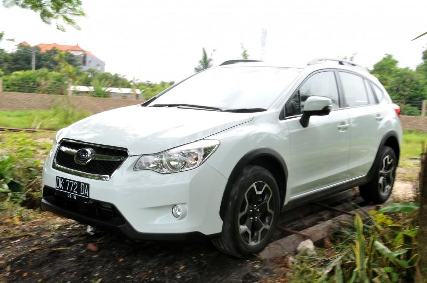 DRIVEN: New Subaru XV 2.0i crossover tested in Bali Image #170706