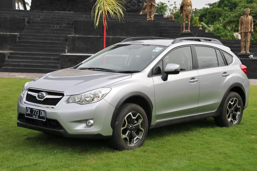 DRIVEN: New Subaru XV 2.0i crossover tested in Bali Image #170704