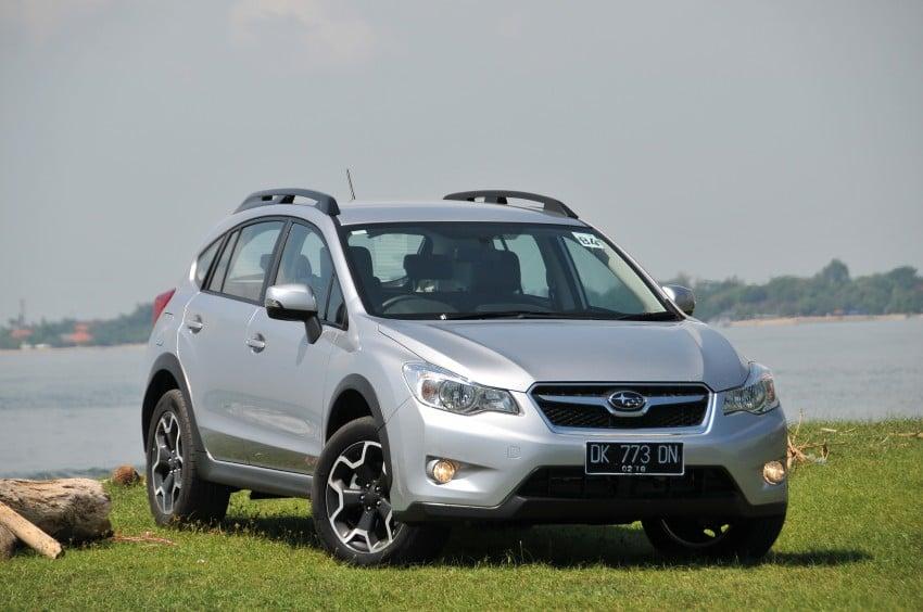 DRIVEN: New Subaru XV 2.0i crossover tested in Bali Image #170700