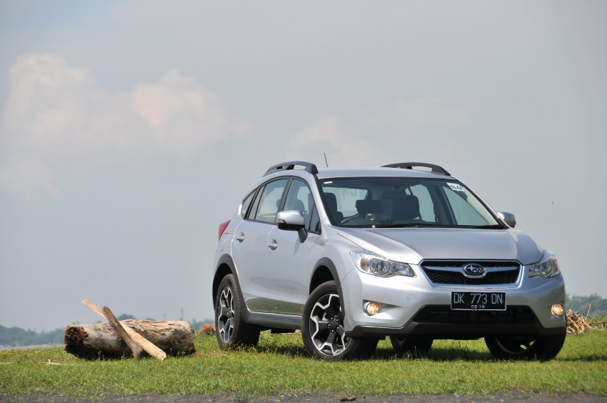 DRIVEN: New Subaru XV 2.0i crossover tested in Bali Image #170699